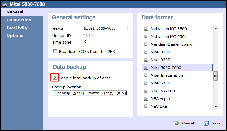 mitel smdr format Calltrak call accounting and phone  report on the cdr / smdr  account code reports are used to identify account code usage on a detailed or a summary format.
